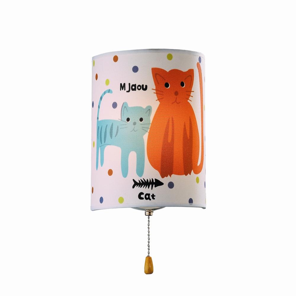 Настенный светильник Odeon Light Cats 2279/1WНастенный светильник Odeon Light Cats 2279/1W<br>