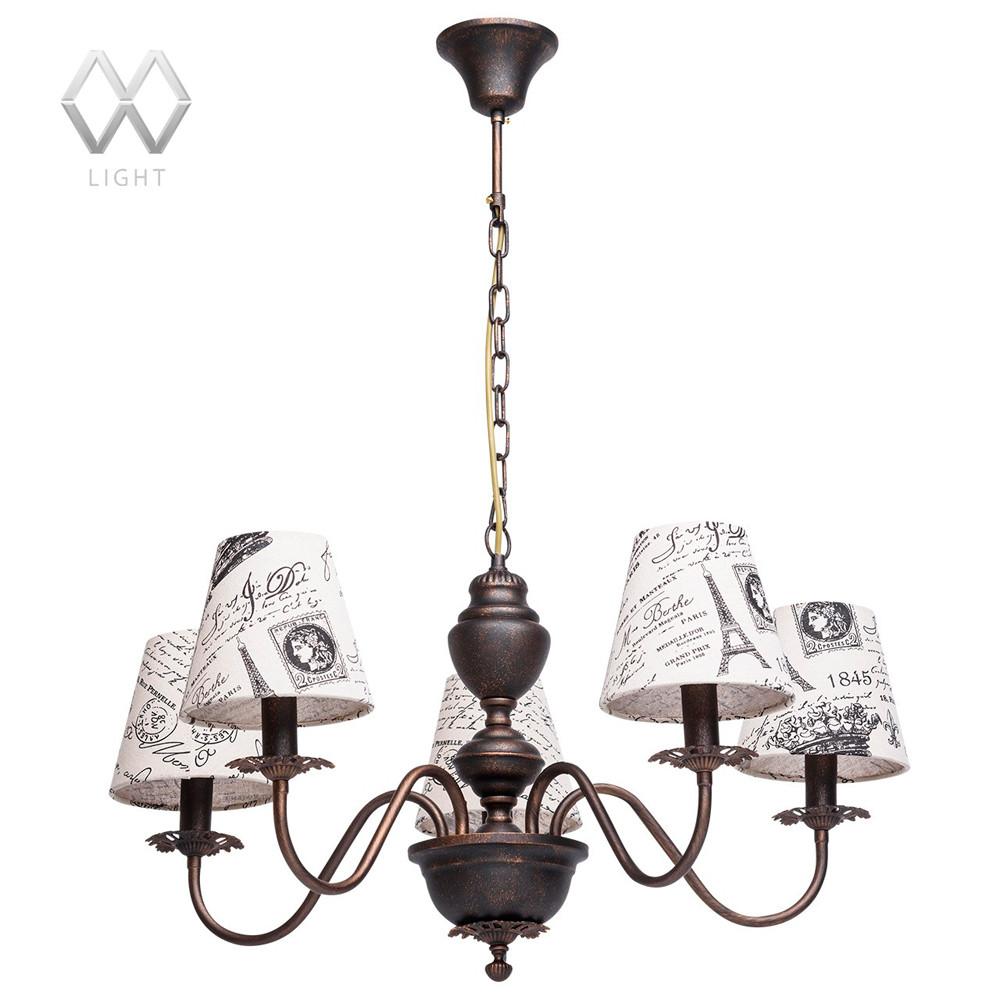 Светильник (Люстра) MW-Light Вирджиния 444010505Светильник (Люстра) MW-Light Вирджиния 444010505<br>