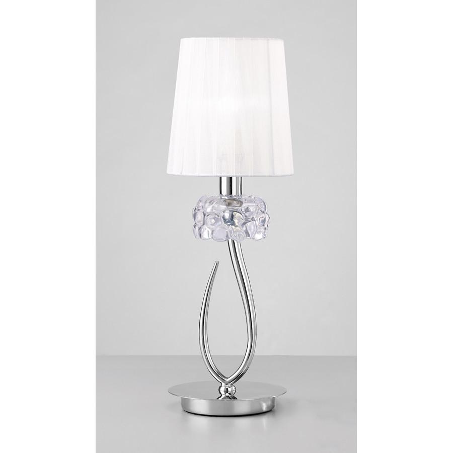 Лампа настольная Mantra Loewe Chrome 4637Лампа настольная Mantra Loewe Chrome 4637<br>