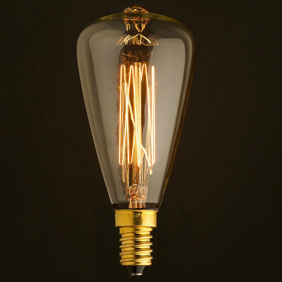 Лампочка Loft It Ретро лампа накаливания Loft It E14 60W 220V 4860-F от svetilnik-online