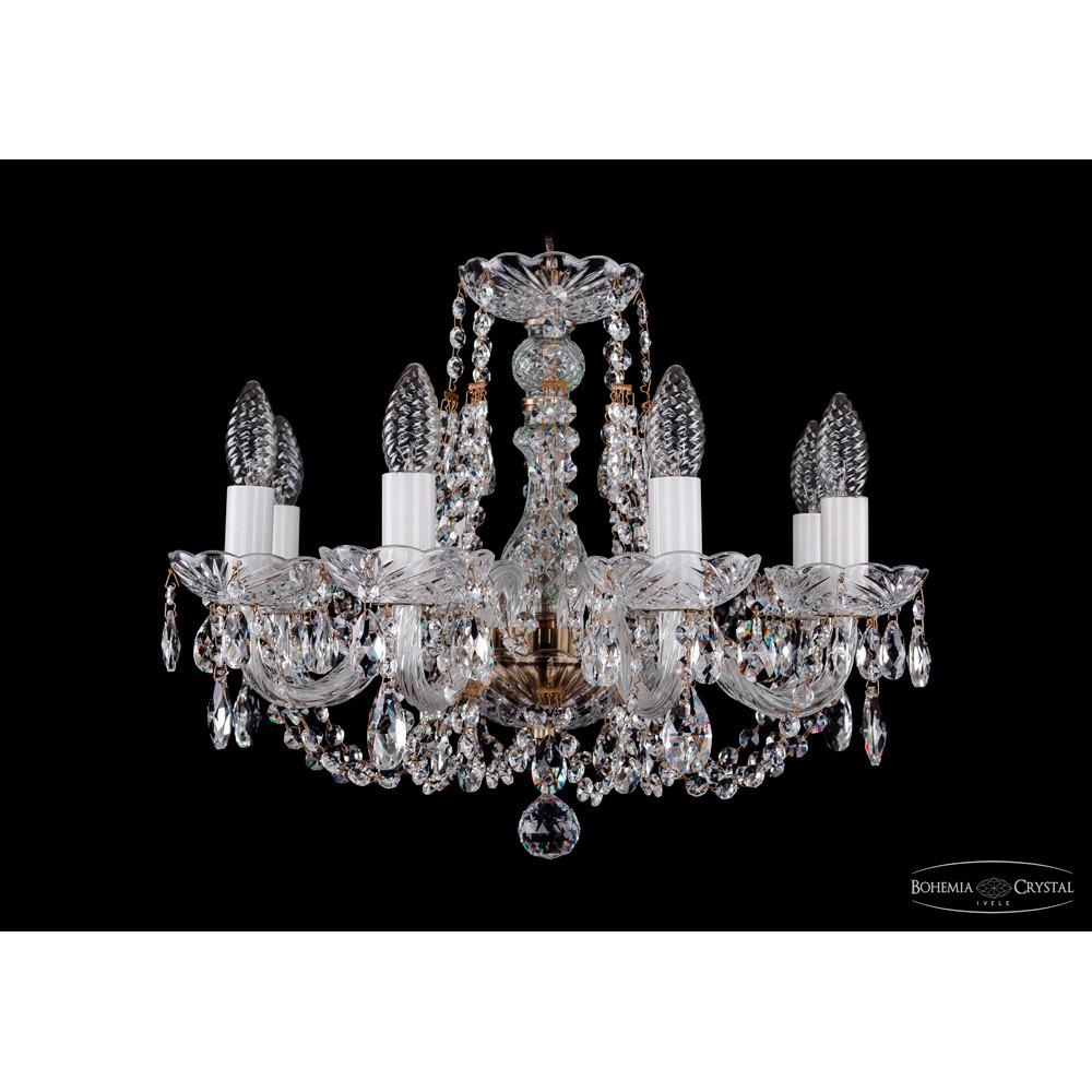 Светильник (Люстра) Bohemia Ivele Crystal 1406/8/160/PaСветильник (Люстра) Bohemia Ivele Crystal 1406/8/160/Pa<br>
