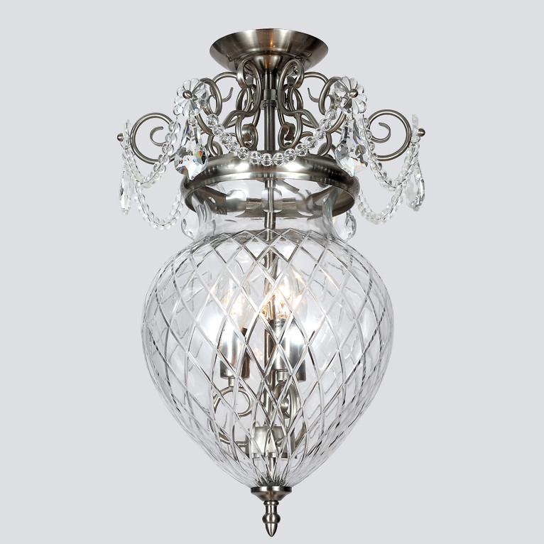 Люстра Newport Newport 6400 6403/C satin nickel от svetilnik-online