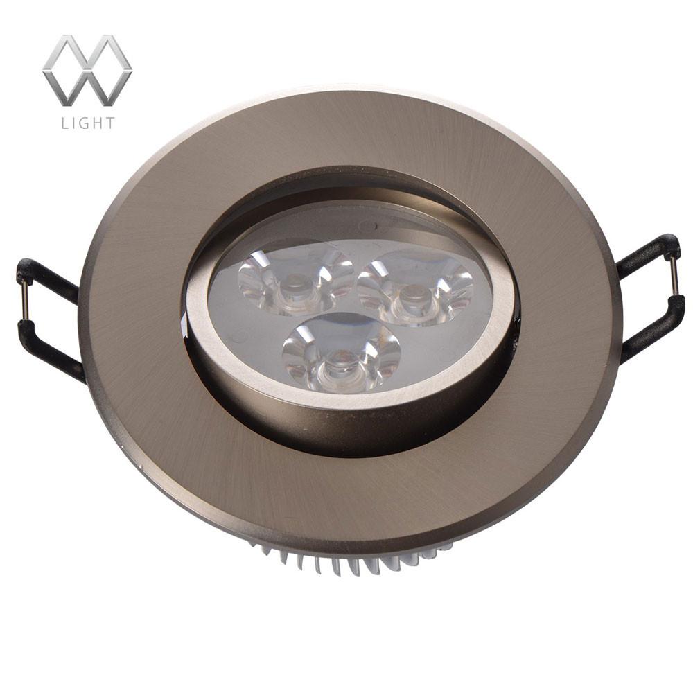 Купить со скидкой Светильник точечный MW-Light Круз 637012103