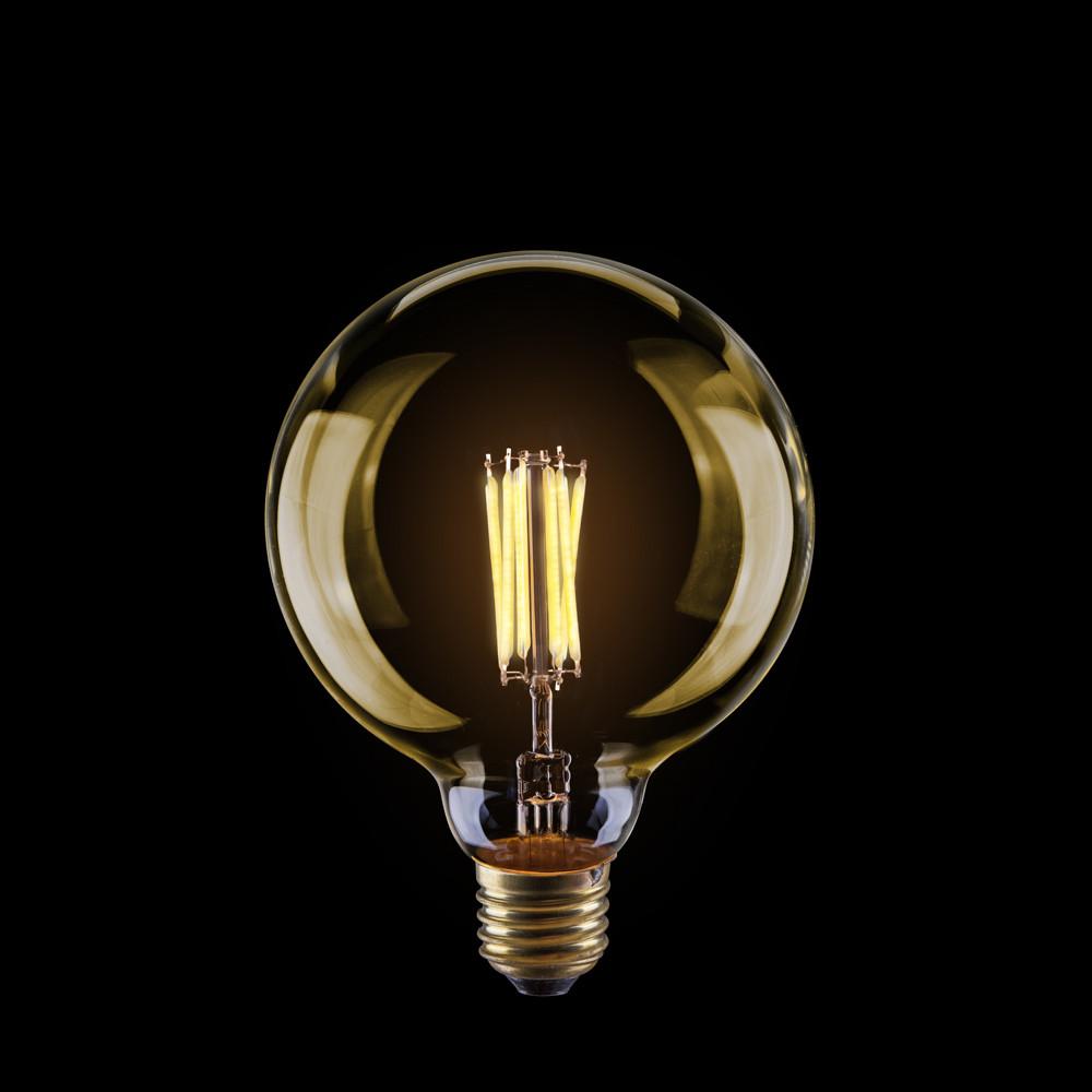 Купить Диммируемая светодиодная лампа шар Voltega 220V E27 8W (соответствует 60 Вт) 600Lm 2800K (теплый белый) 6838