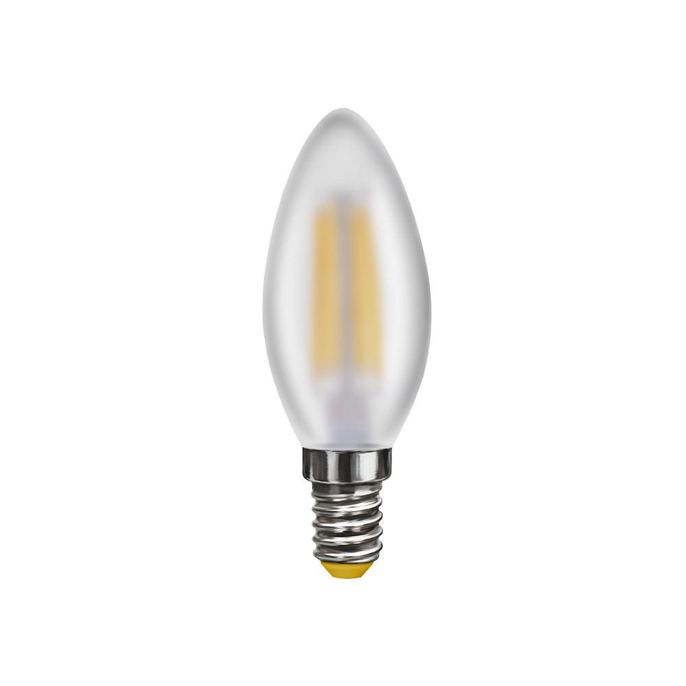 Купить Светодиодная лампа свеча Voltega 220V E14 4W (соответствует 40Вт) 360Lm 4000K (белый) 7000