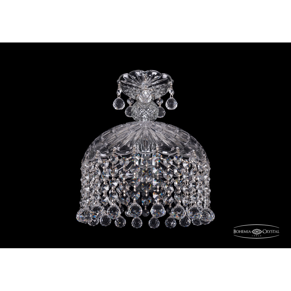 Светильник (Люстра) Bohemia Ivele Crystal 7715/22/1/Ni/BallsСветильник (Люстра) Bohemia Ivele Crystal 7715/22/1/Ni/Balls<br>