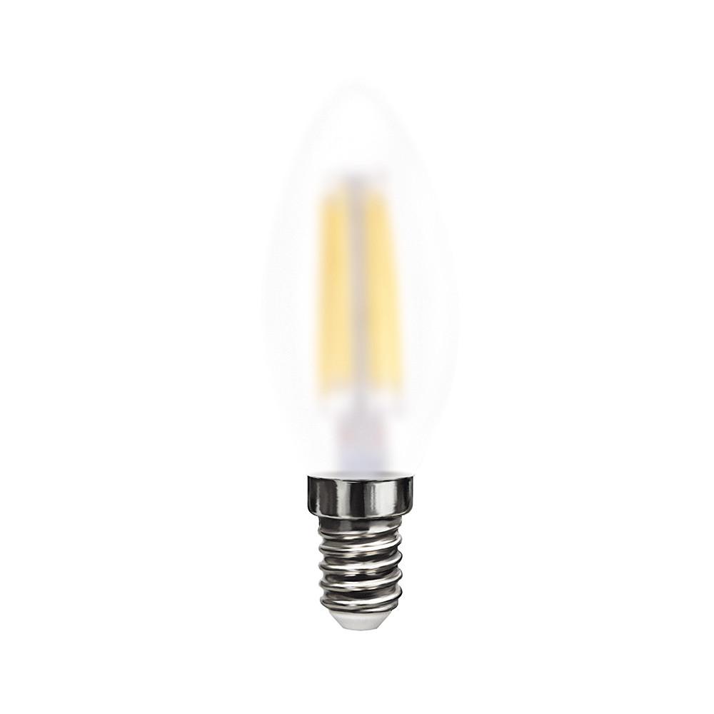 Купить Светодиодная лампа свеча Voltega 220V E14 6W (соответствует 60 Вт) 570Lm 4000K (белый) 7045