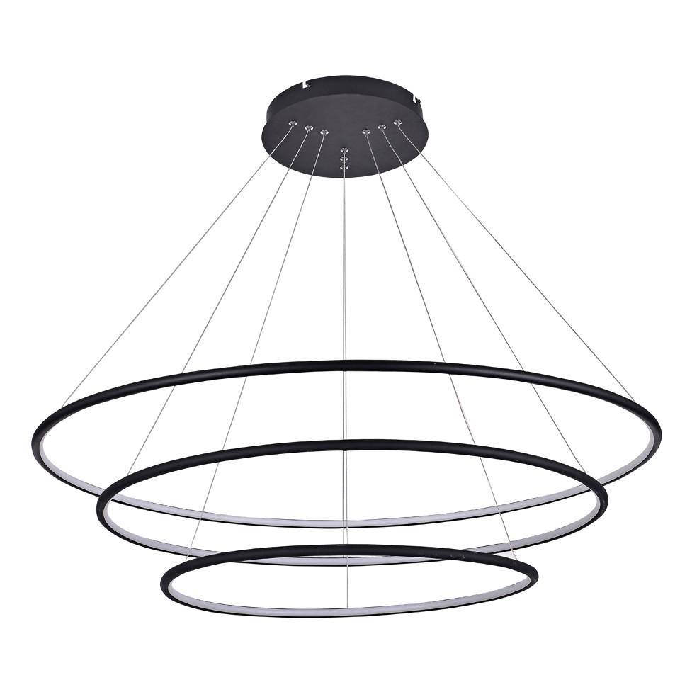 Светильник (Люстра) Donolux S111024/3R 144W Black In  - Купить
