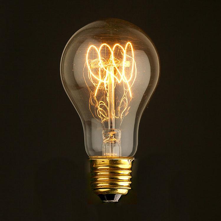 Лампочка Loft It Ретро лампа накаливания Loft It E27 60W 220V 7560-T от svetilnik-online