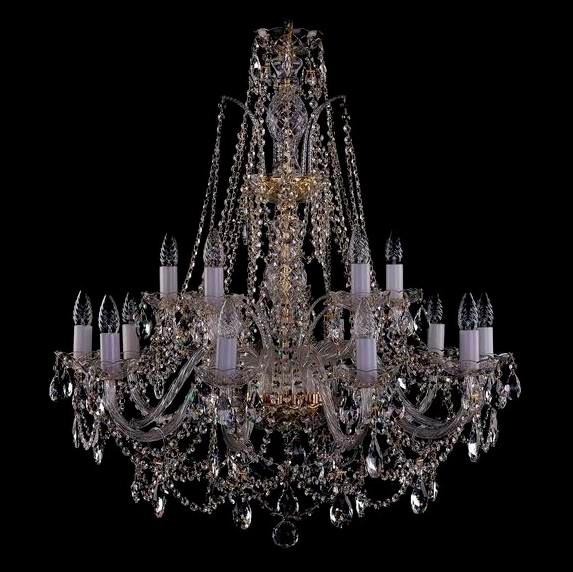 Светильник (Люстра) Bohemia Ivele Crystal 1411/10+5/300/GСветильник (Люстра) Bohemia Ivele Crystal 1411/10+5/300/G<br>