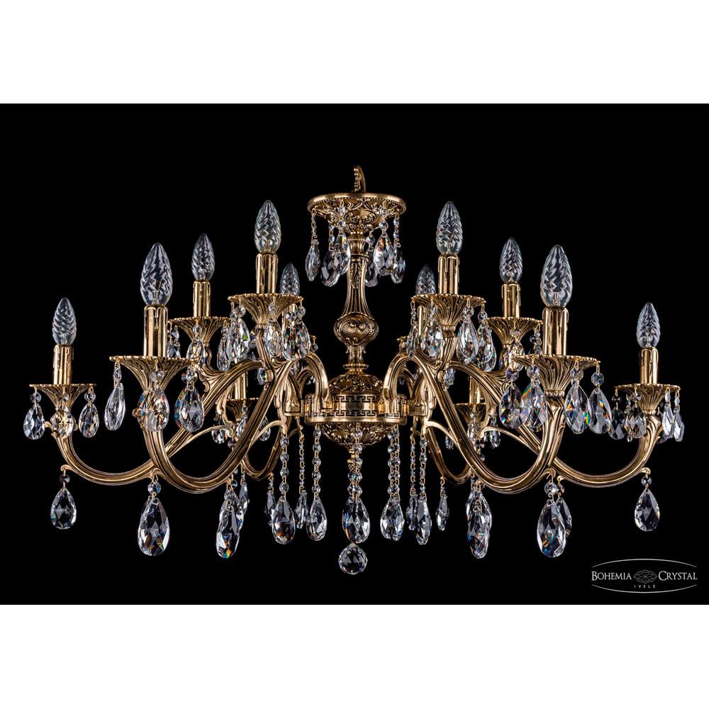 Светильник (Люстра) Bohemia Ivele Crystal 1703/12/360/A/GBСветильник (Люстра) Bohemia Ivele Crystal 1703/12/360/A/GB<br>