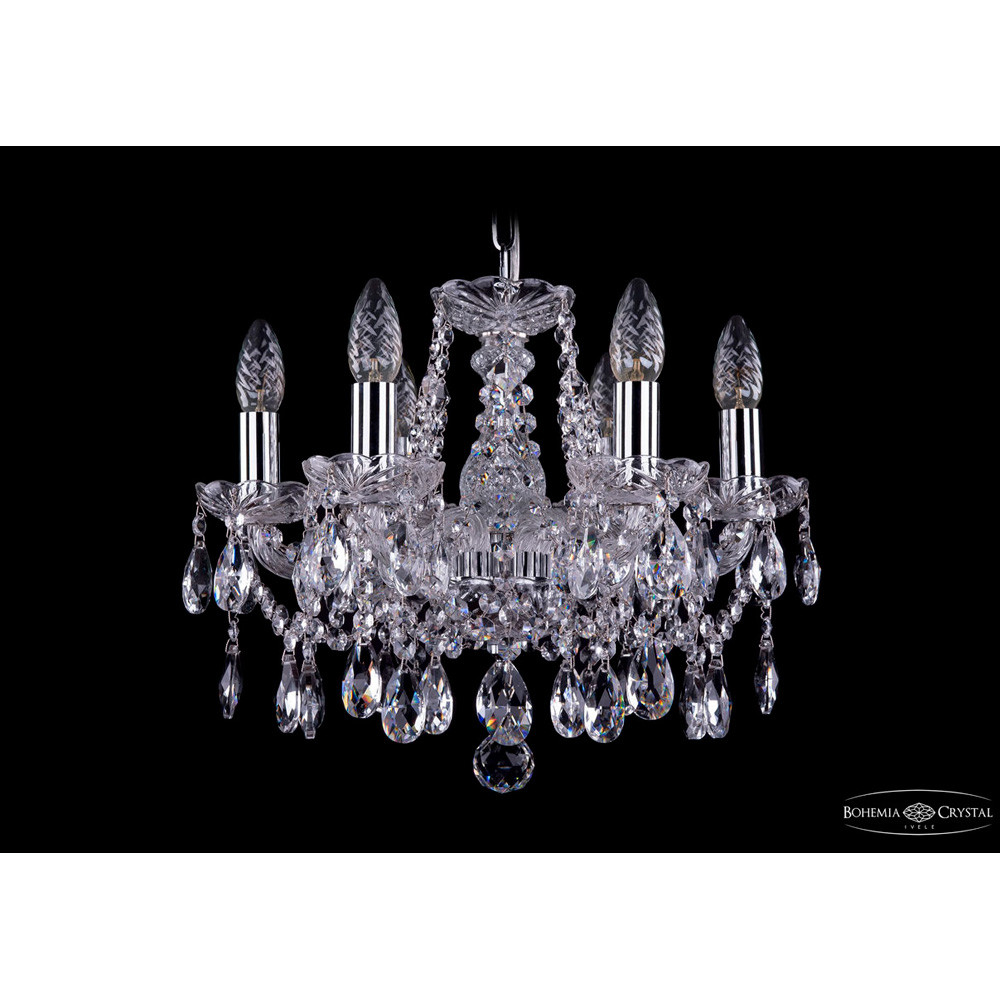 Светильник (Люстра) Bohemia Ivele Crystal 1413/6/141/NiСветильник (Люстра) Bohemia Ivele Crystal 1413/6/141/Ni<br>
