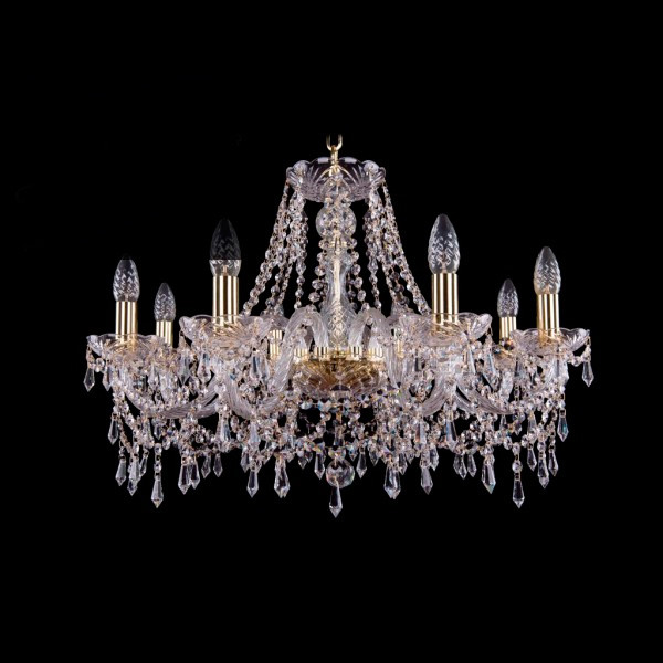 Светильник (Люстра) Bohemia Ivele Crystal 1403/8/240/GСветильник (Люстра) Bohemia Ivele Crystal 1403/8/240/G<br>