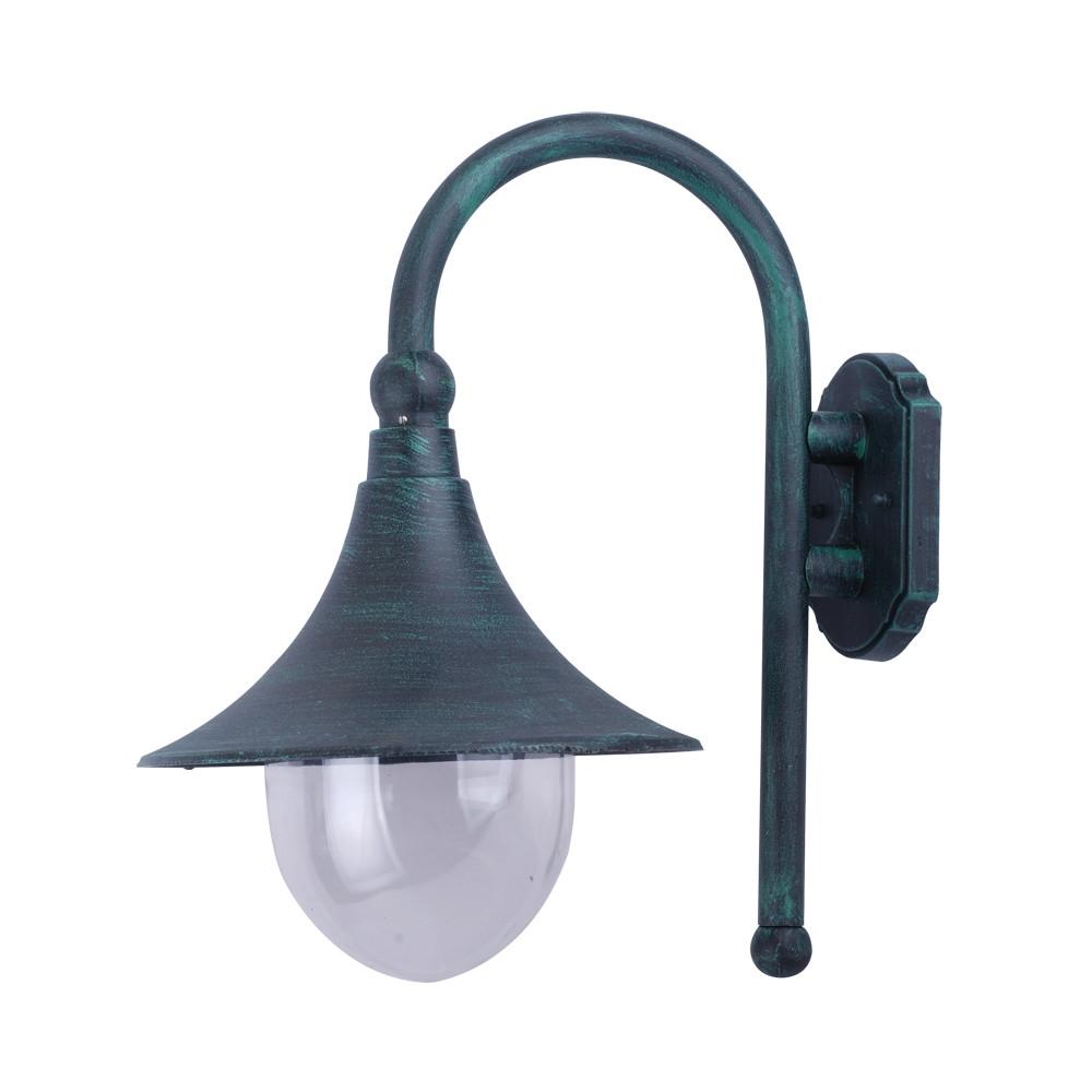 Купить Уличный настенный светильник Arte Malaga A1082AL-1BG