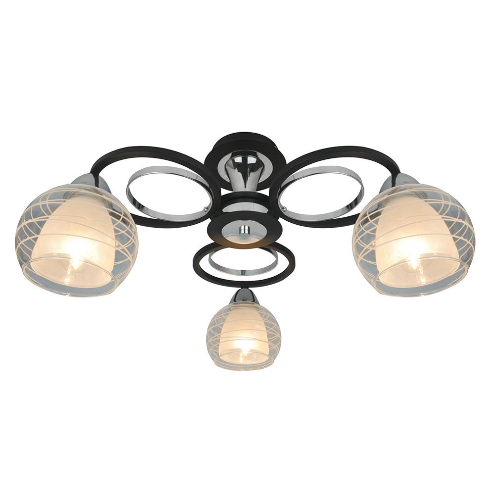 Купить Светильник потолочный Arte Ginevra A1604PL-3BK