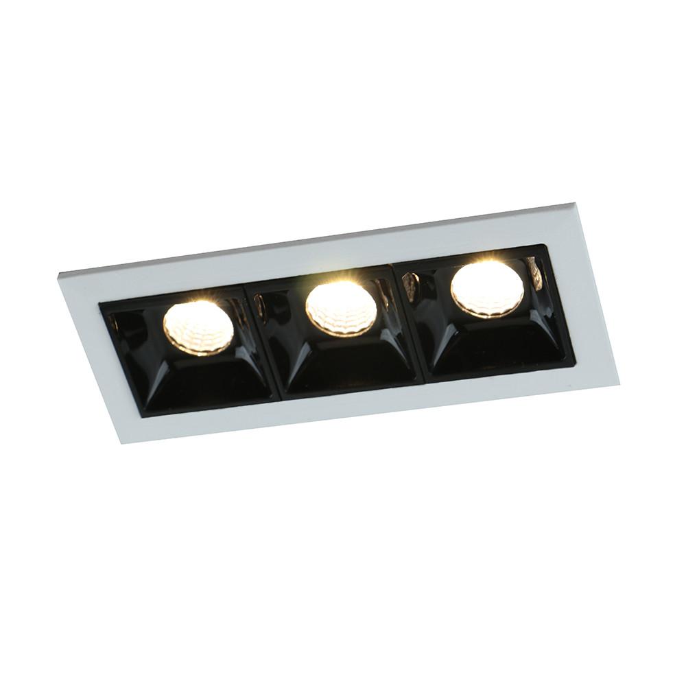 Купить Светильник точечный Arte Grill A3153PL-3BK