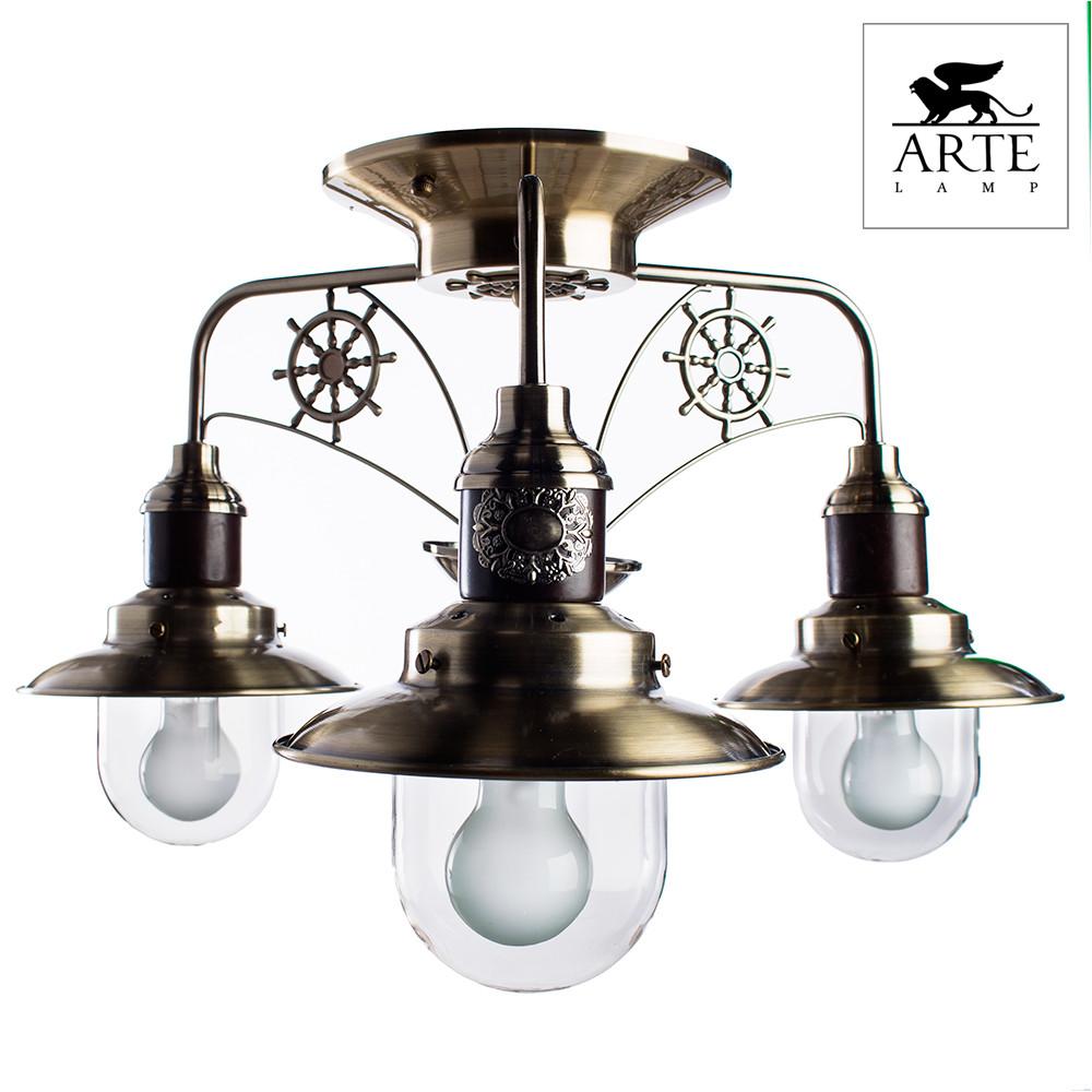 Светильник потолочный Arte Sailor A4524PL-3AB  - Купить