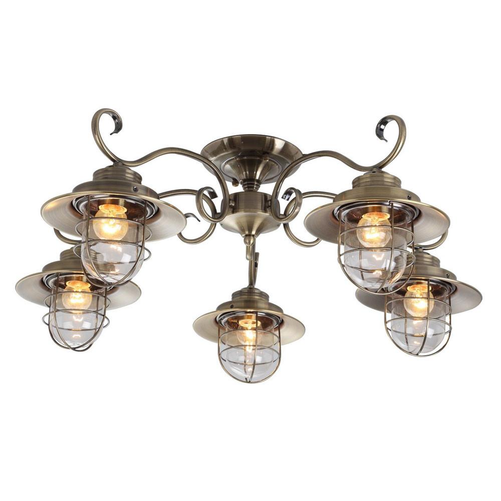 Светильник потолочный Arte Lanterna A4579PL-5AB  - Купить