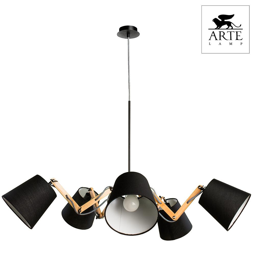 Светильник (Люстра) Arte Pinoccio A5700LM-5BKСветильник (Люстра) Arte Pinoccio A5700LM-5BK<br>