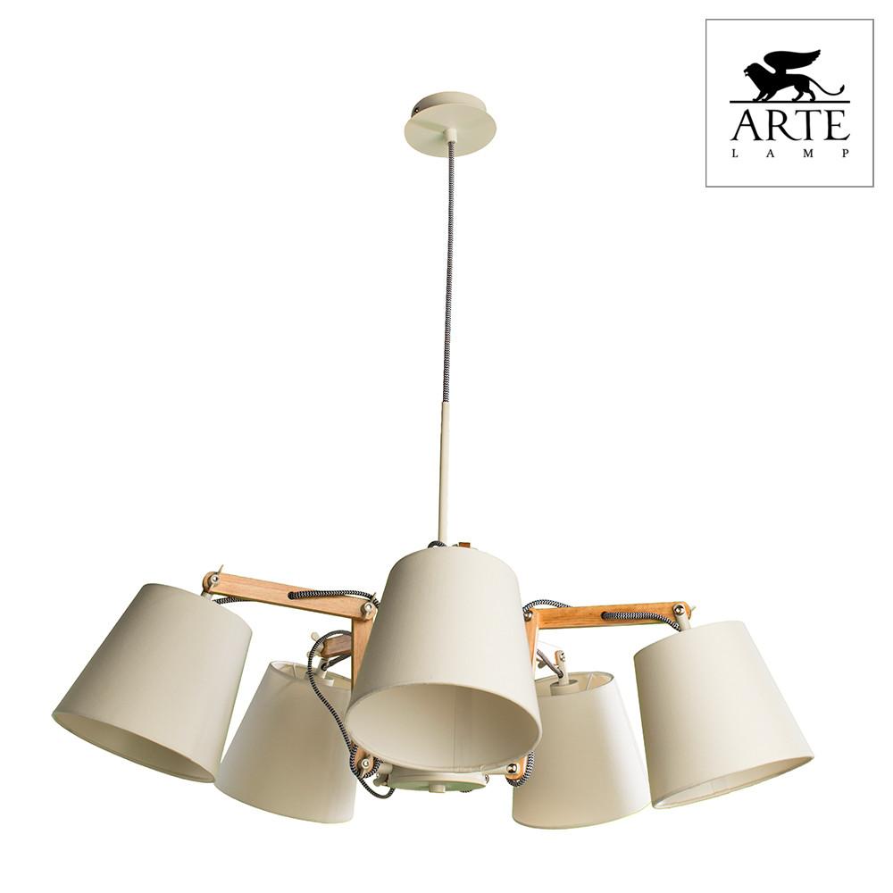 Светильник (Люстра) Arte Pinoccio A5700LM-5WHСветильник (Люстра) Arte Pinoccio A5700LM-5WH<br>