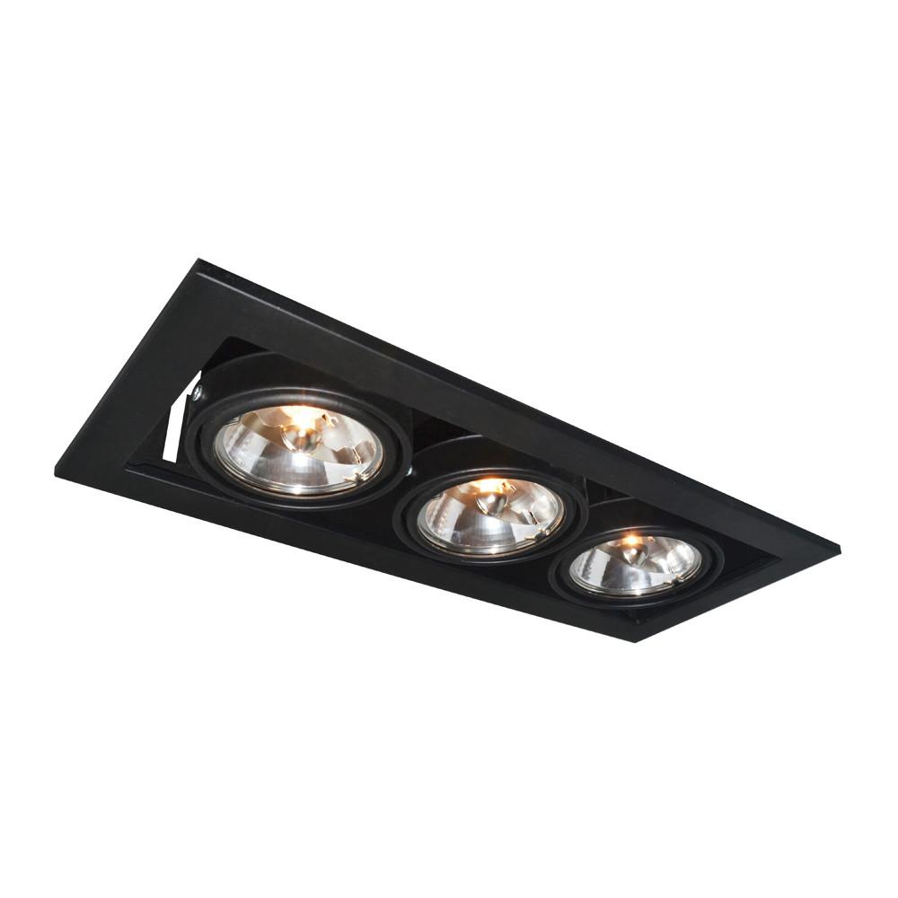 Купить Светильник точечный Arte Technika A5930PL-3BK