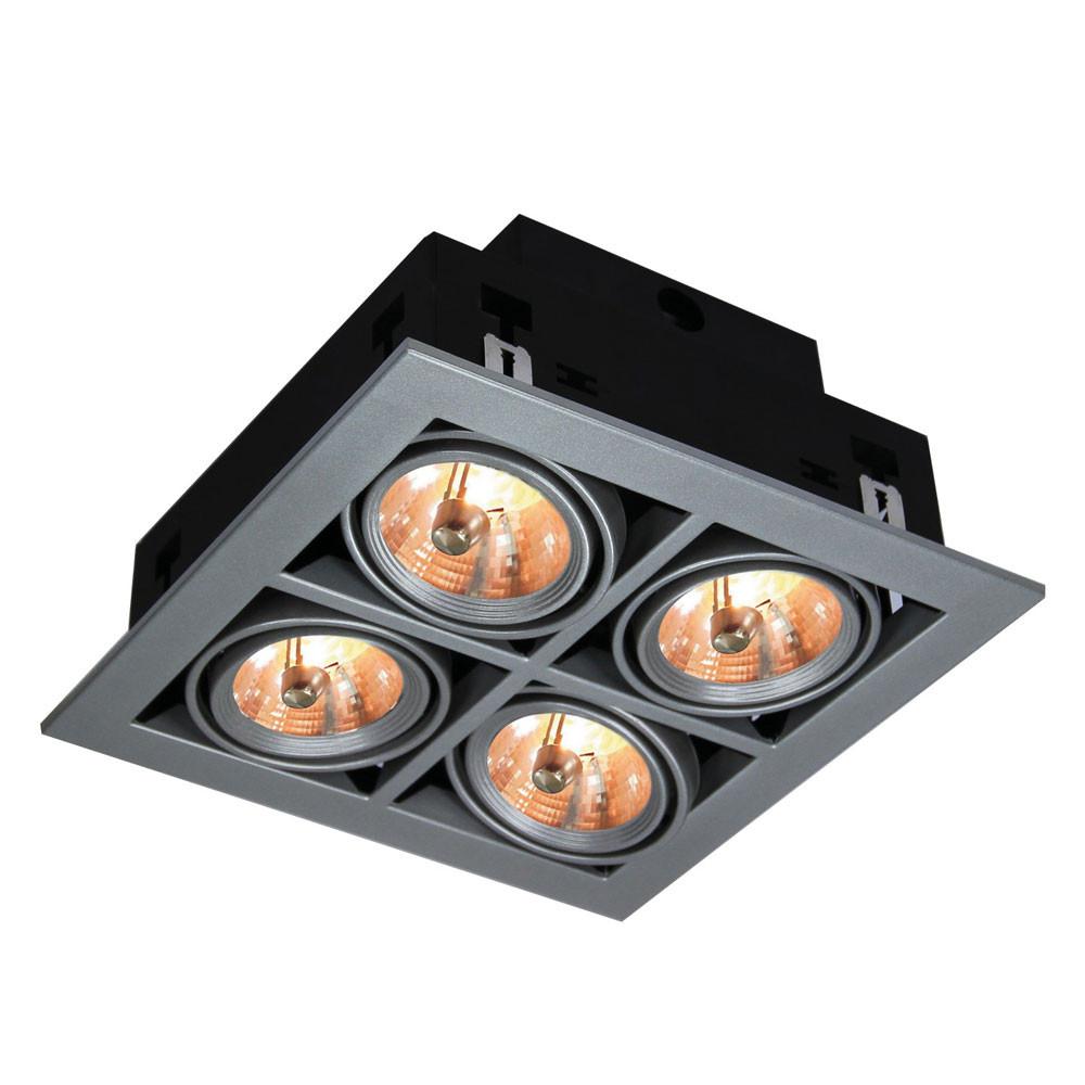 Светильник точечный Arte Gardani A5930PL-4SI  - Купить