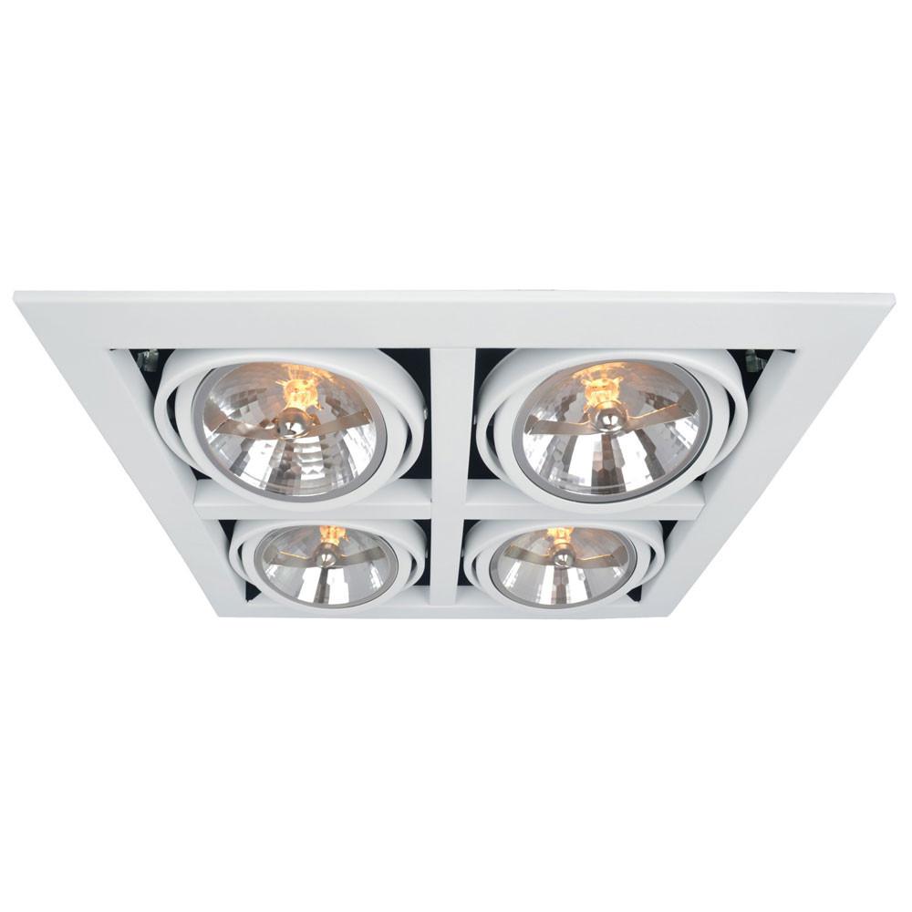 Светильник точечный Arte Gardani A5935PL-4WHСветильник точечный Arte Gardani A5935PL-4WH<br>
