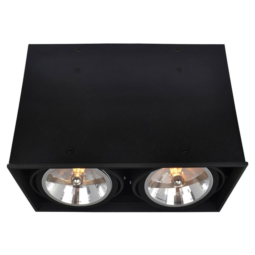 Светильник точечный Arte Gardani A5936PL-2BKСветильник точечный Arte Gardani A5936PL-2BK<br>