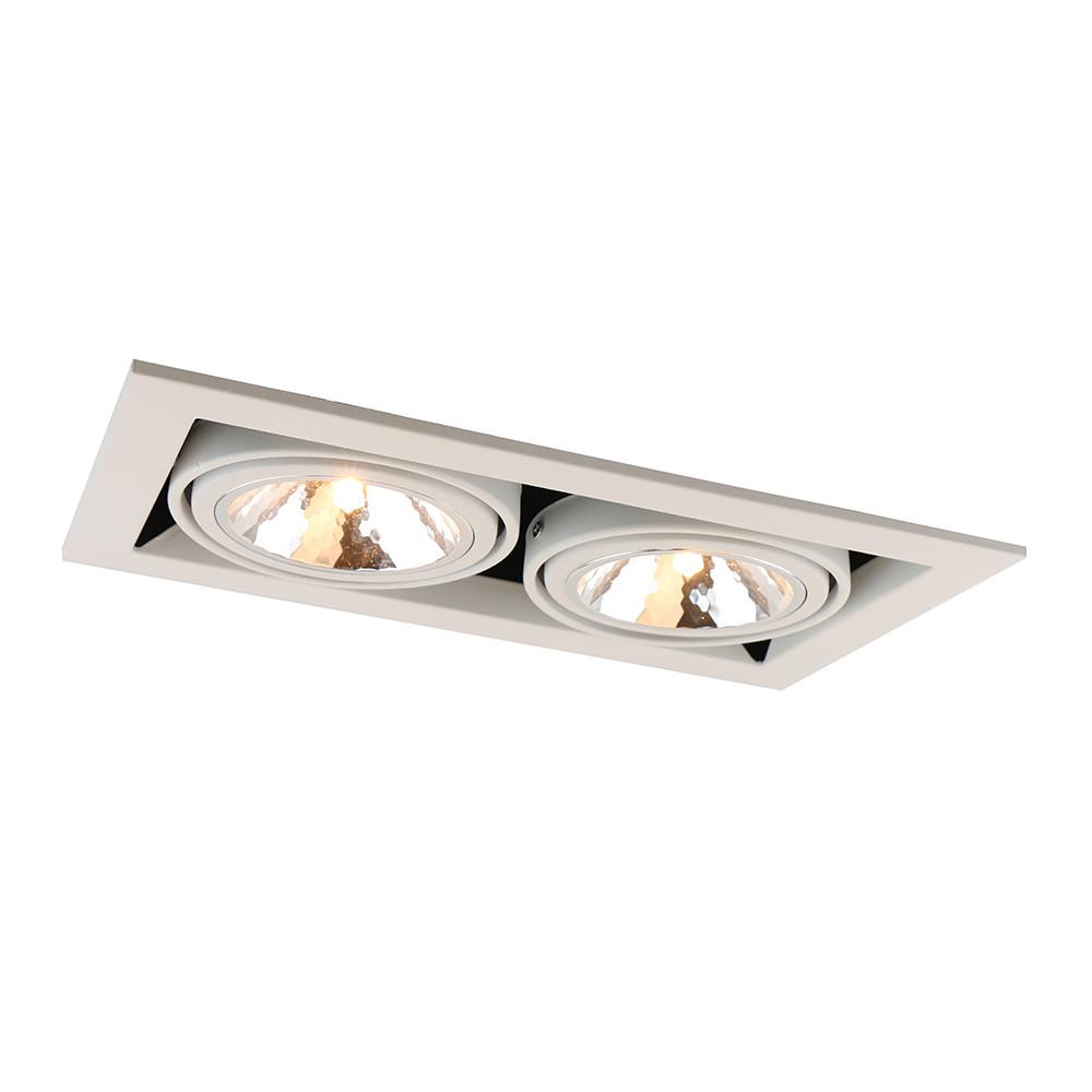 Купить Светильник точечный Arte Cardani Semplice A5949PL-2WH