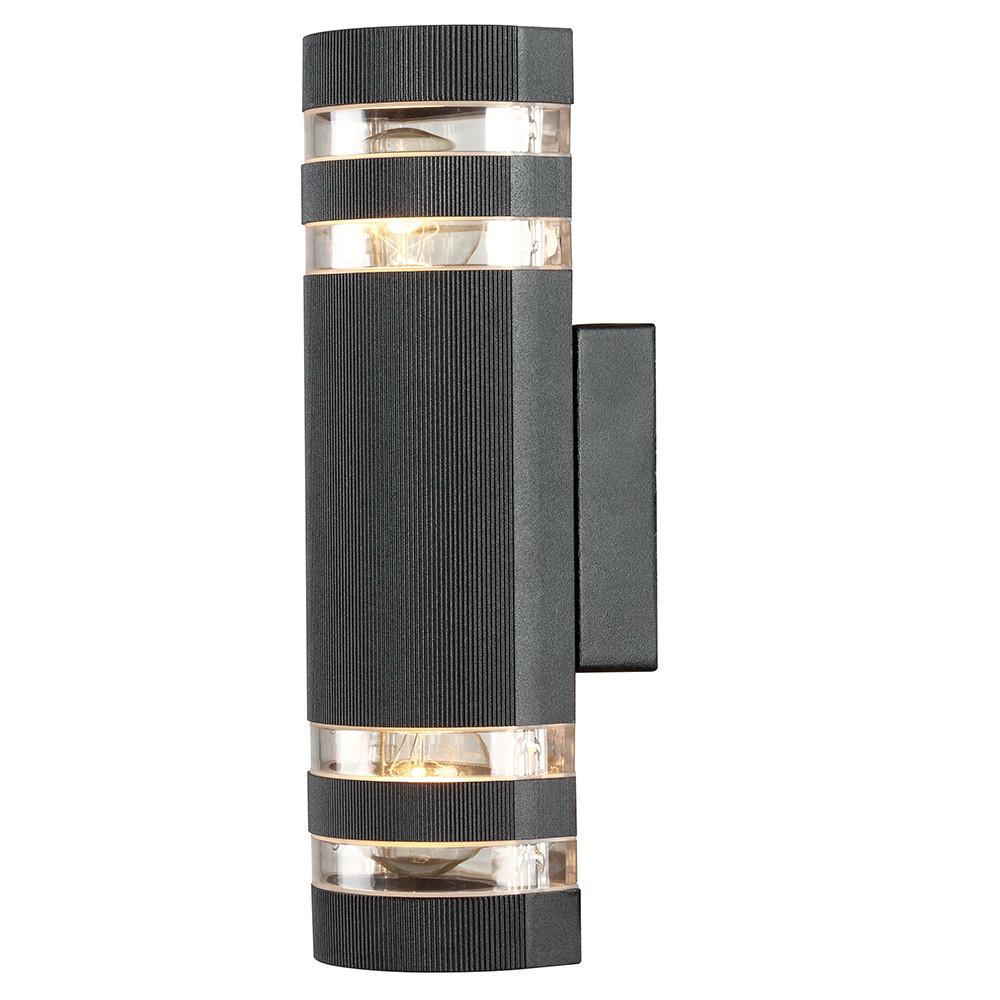 Купить Уличный настенный светильник Arte Metro A8162AL-2BK