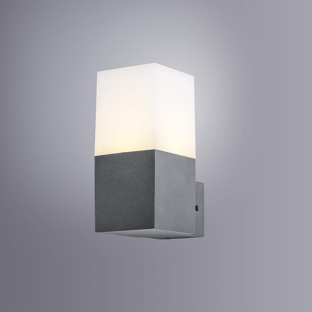 Купить Уличный настенный светильник Arte Portu A8372AL-1GY