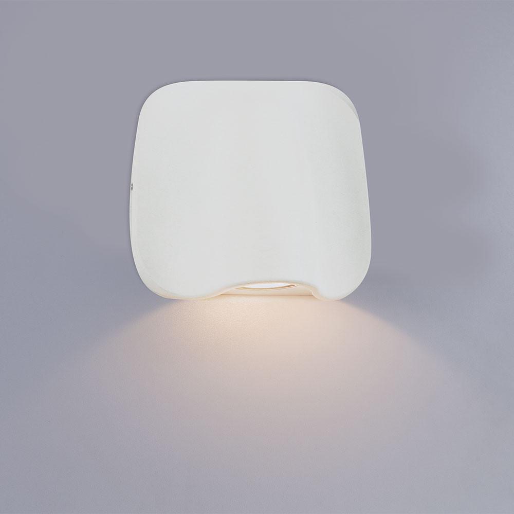 Купить Уличный настенный светильник Arte Lupus A8503AL-1WH