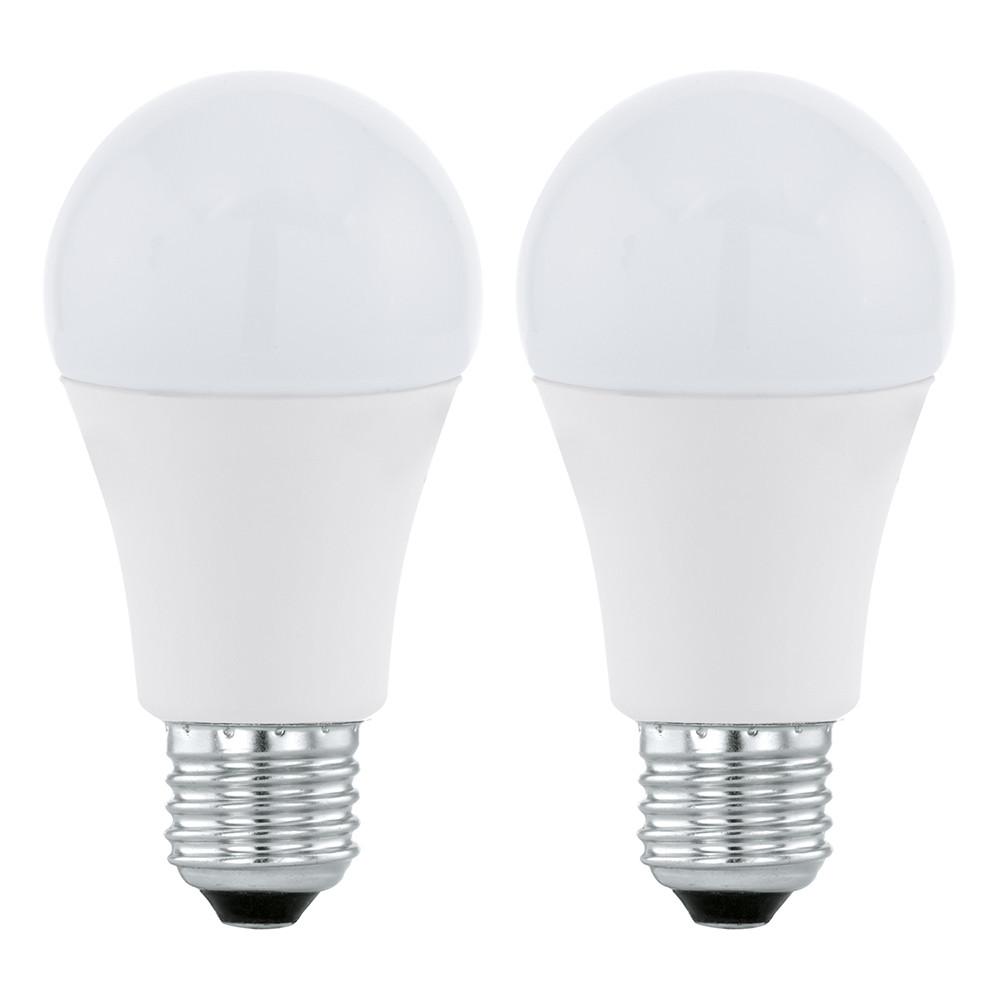 Купить Светодиодная лампа Eglo A60 E27 11W (соответствует 110W) 1055Lm 3000K (теплый белый) 11484