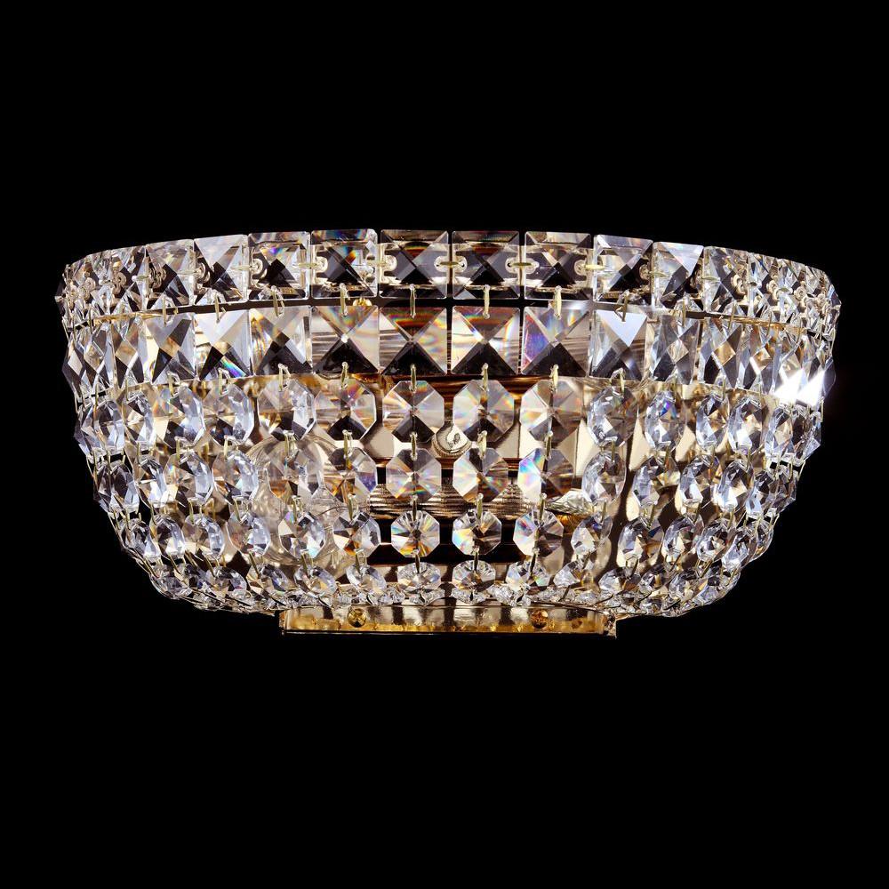 Бра Maytoni Diamant 2 C100-WB1-GБра Maytoni Diamant 2 C100-WB1-G<br>