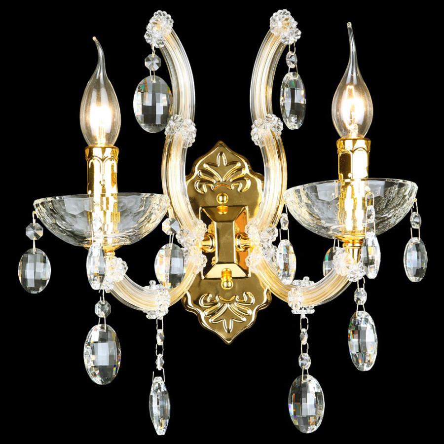 Светильник Crystal lux Crystal Lux HOLLYWOOD AP2 GOLD от svetilnik-online