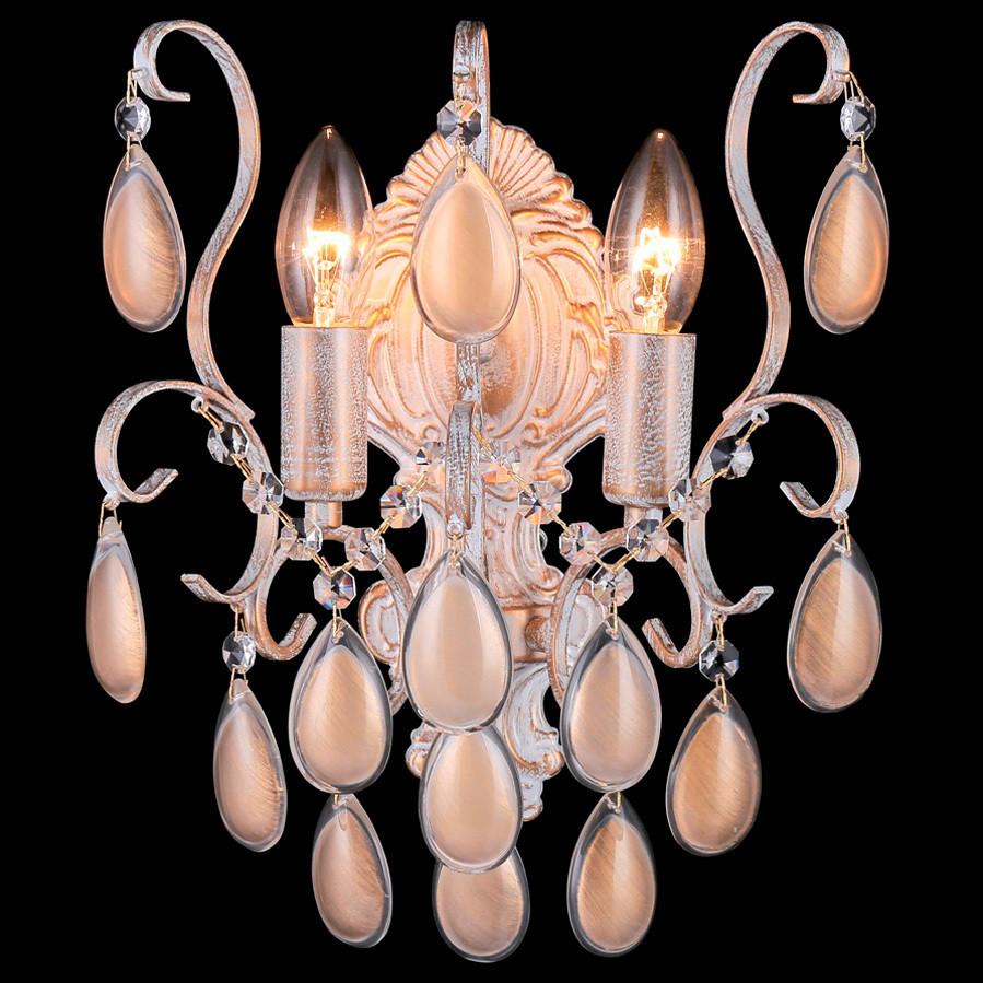 Светильник Crystal lux Crystal Lux SEVILIA AP2 GOLD от svetilnik-online