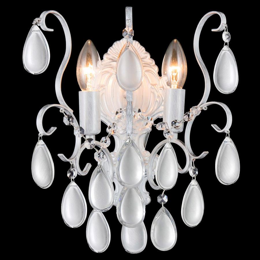 Светильник Crystal lux Crystal Lux SEVILIA AP2 SILVER от svetilnik-online