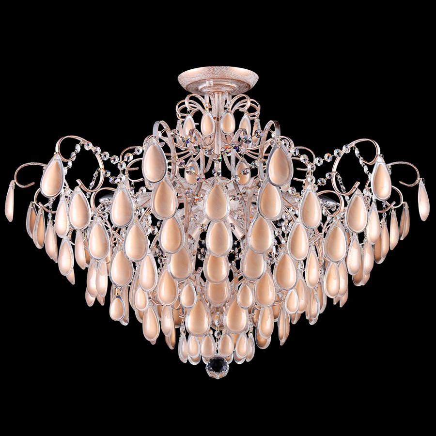 Светильник потолочный Crystal Lux SEVILIA PL9 GOLDСветильник потолочный Crystal Lux SEVILIA PL9 GOLD<br>