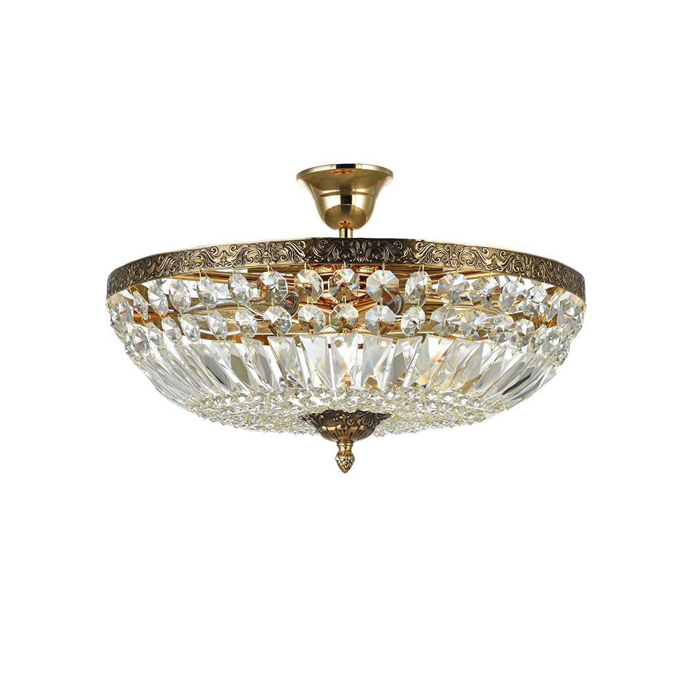 Купить Светильник потолочный Maytoni Tiara DIA500-CL-40-06-G