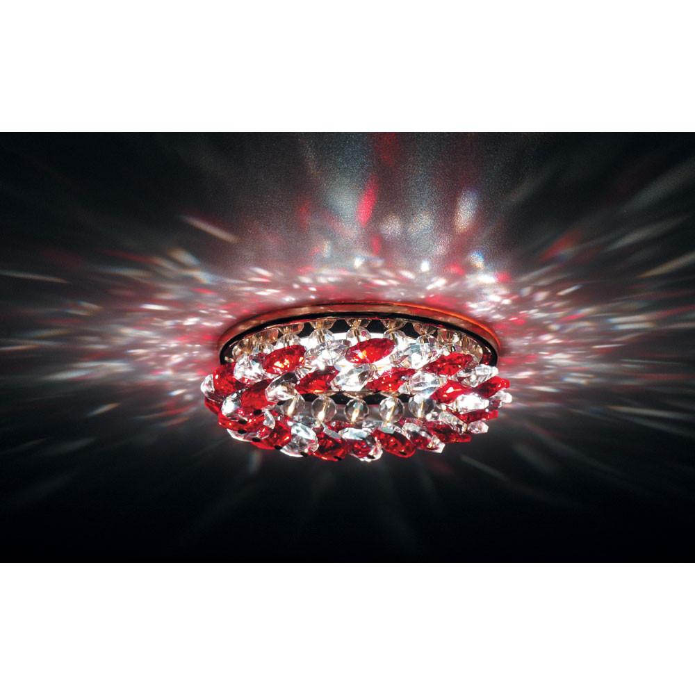 Точечный светильник Donolux Donolux DL061.79.1/6 crystal/red от svetilnik-online