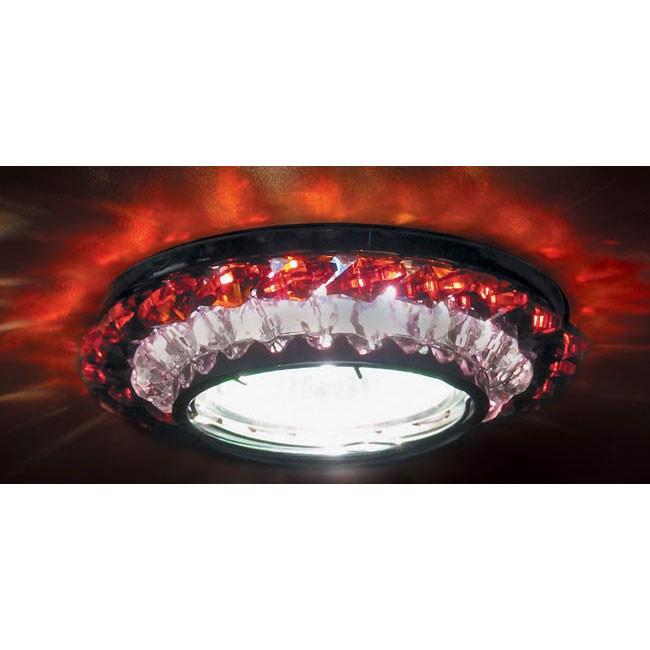 Точечный светильник Donolux Donolux DL062.02.1/6 crystal/red от svetilnik-online