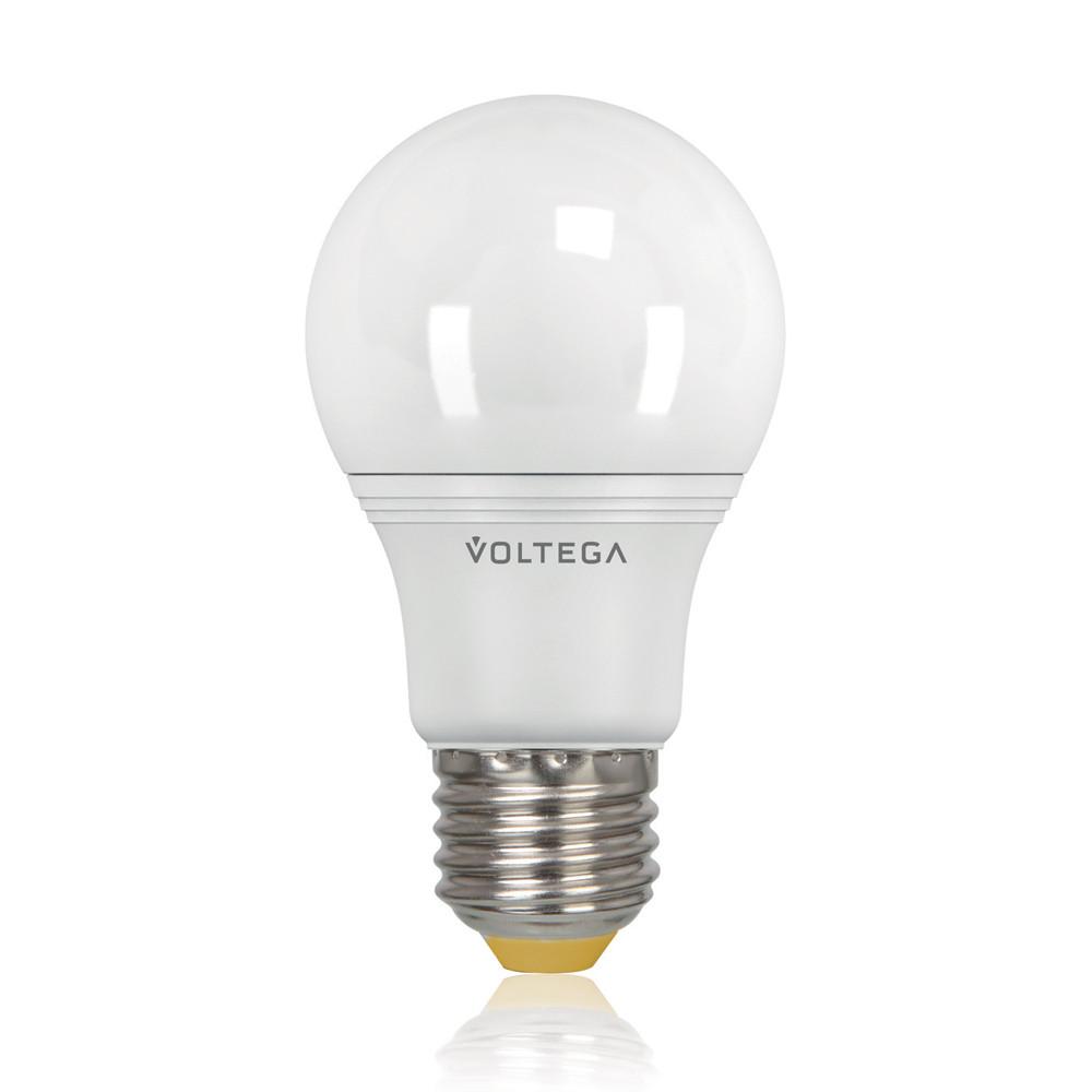 Светодиодная лампа общего назначения Voltega 220V E27 8W (соответствует 75 Вт) 730Lm 2800K (теплый белый) 5735Лампочки<br>Светодиодная лампа общего назначения Voltega 220V E27 8W (соответствует 75 Вт) 730Lm 2800K (теплый белый) 5735<br>