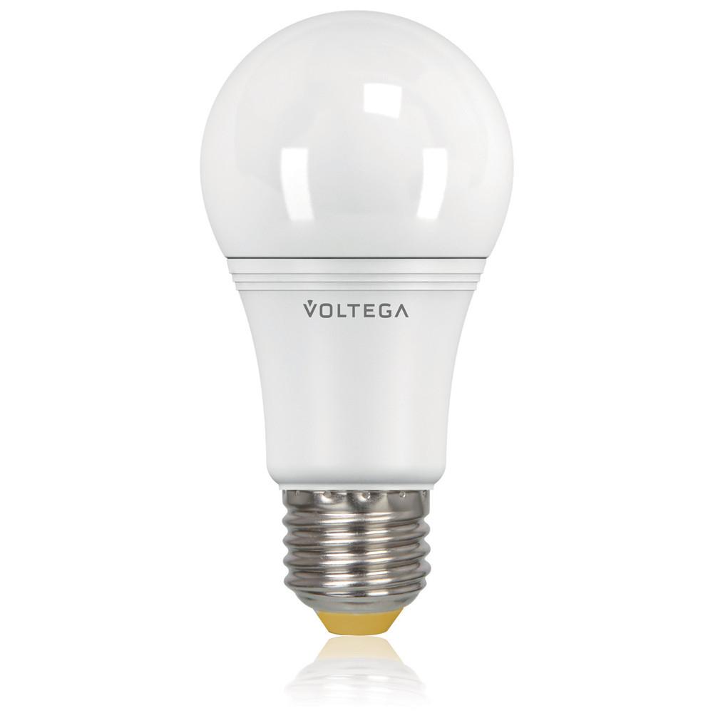 Светодиодная лампа общего назначения Voltega 220V E27 10.5W (соответствует 100 Вт) 950Lm 2800K (теплый белый) 5737Лампочки<br>Светодиодная лампа общего назначения Voltega 220V E27 10.5W (соответствует 100 Вт) 950Lm 2800K (теплый белый) 5737<br>