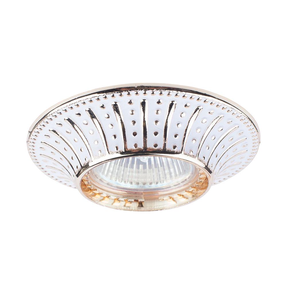 Купить Светильник точечный Donolux N1582-White+Gold stripe