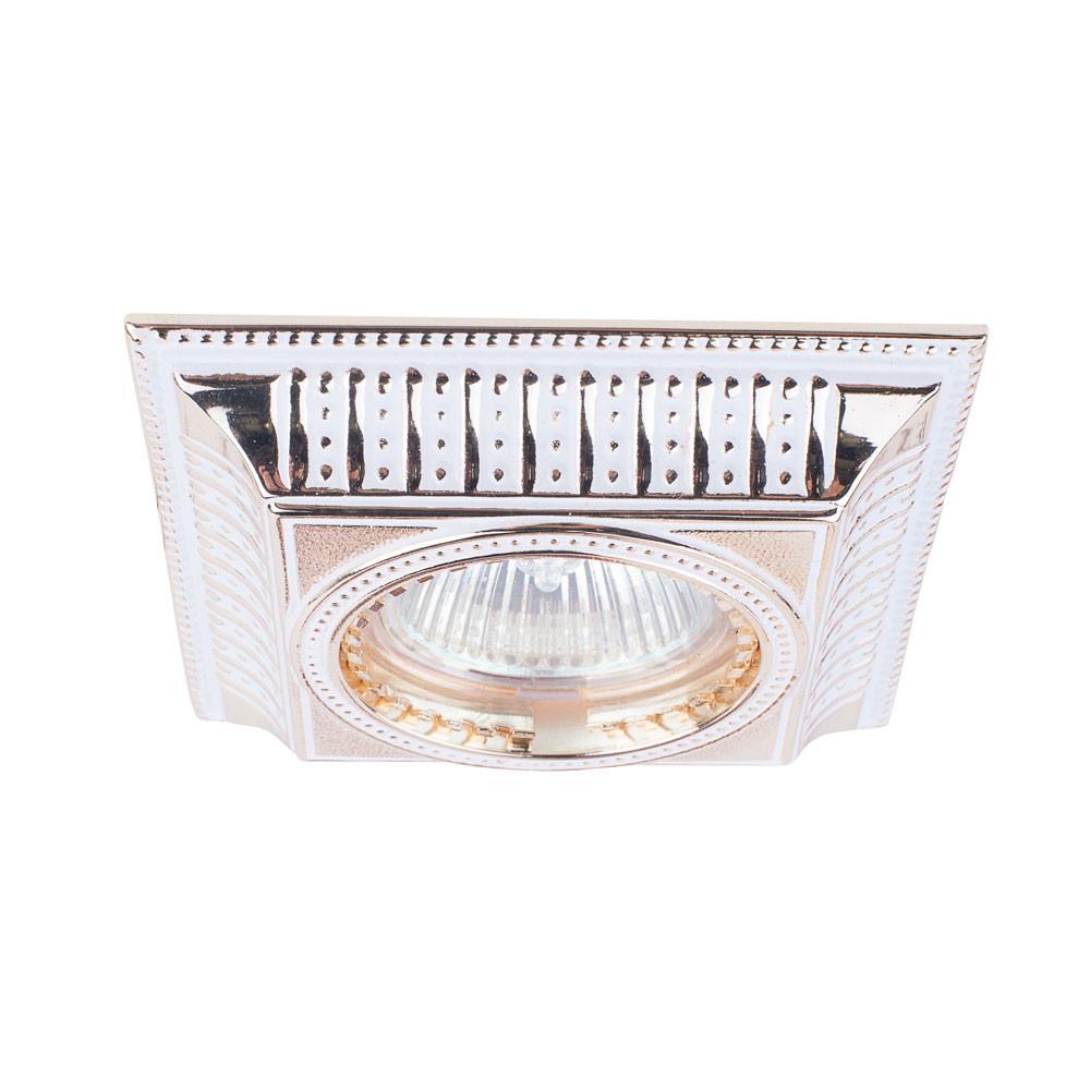 Купить Светильник точечный Donolux SN1582-White+Gold stripe