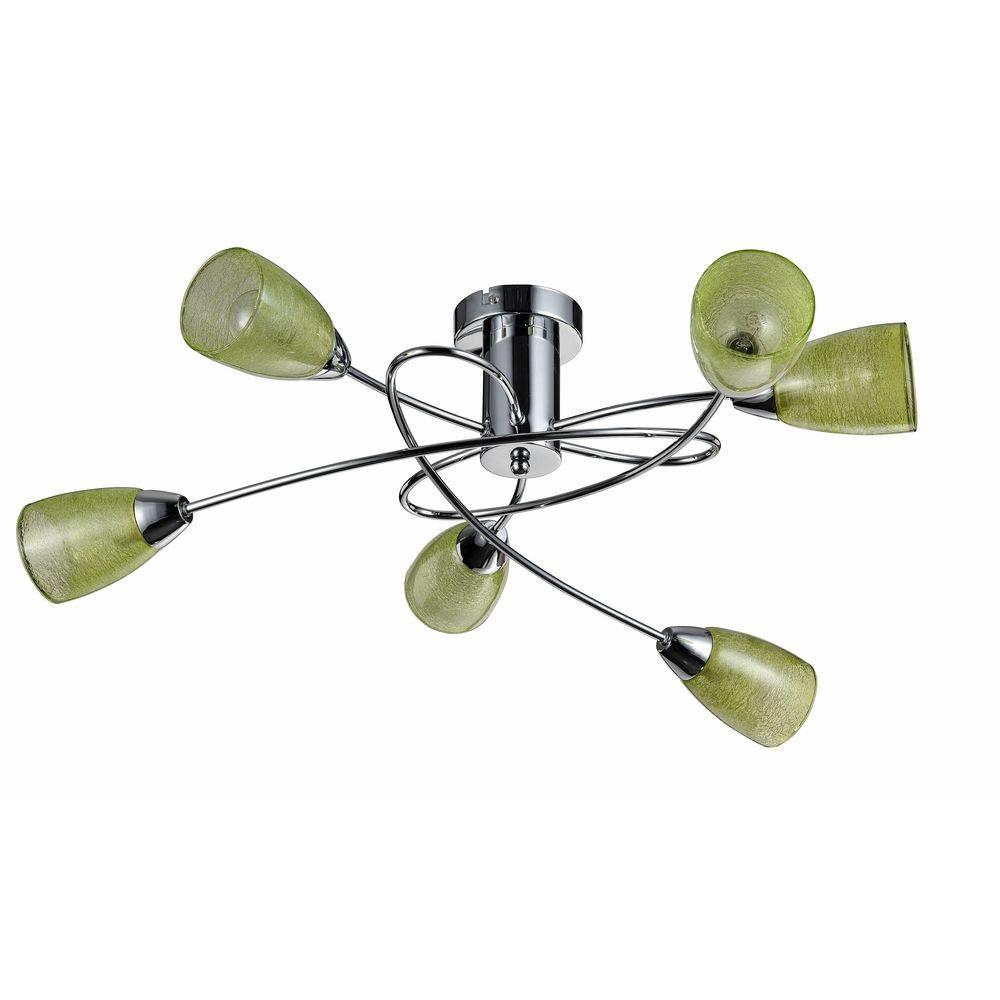 Светильник потолочный Freya Flash FR5103-CL-06-GNСветильник потолочный Freya Flash FR5103-CL-06-GN<br>