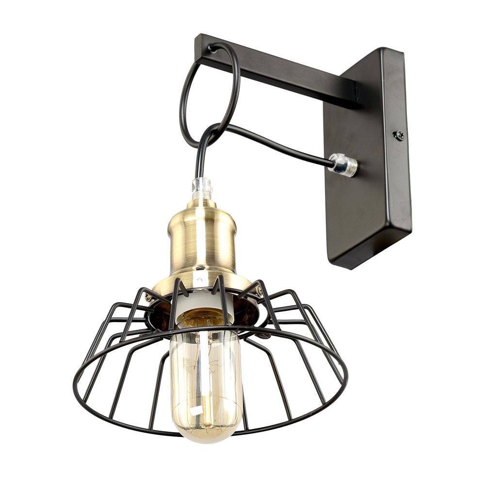 Светильник RiForma RiForma Cord 3-8711-1-BK+AB E27 от svetilnik-online