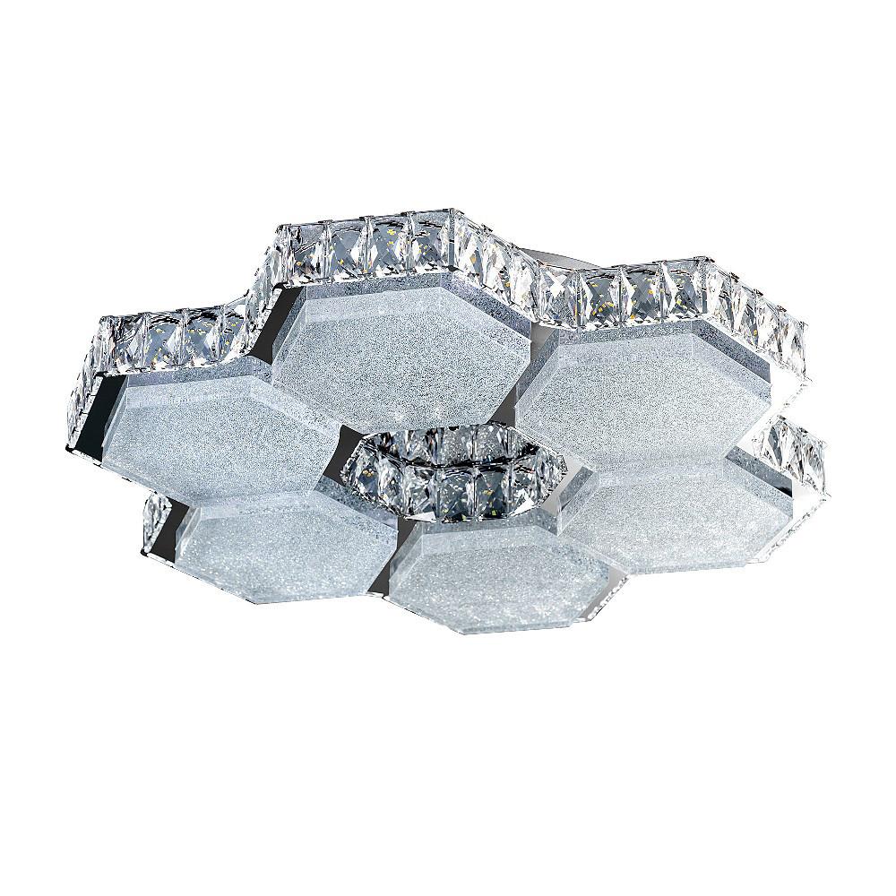 Люстра RiForma RiForma Crystal 1-5465-6-WH+CR LED от svetilnik-online