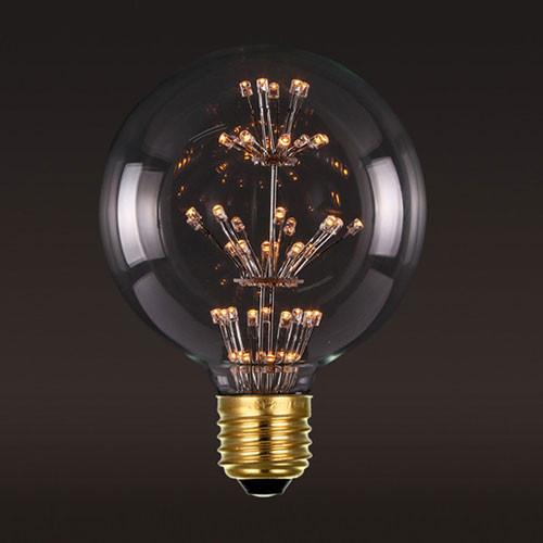Лампочка Loft It Ретро лампа светодиодная (шар) Loft It Led E27 3W (соответствует 25Вт) 220V G12547LED от svetilnik-online