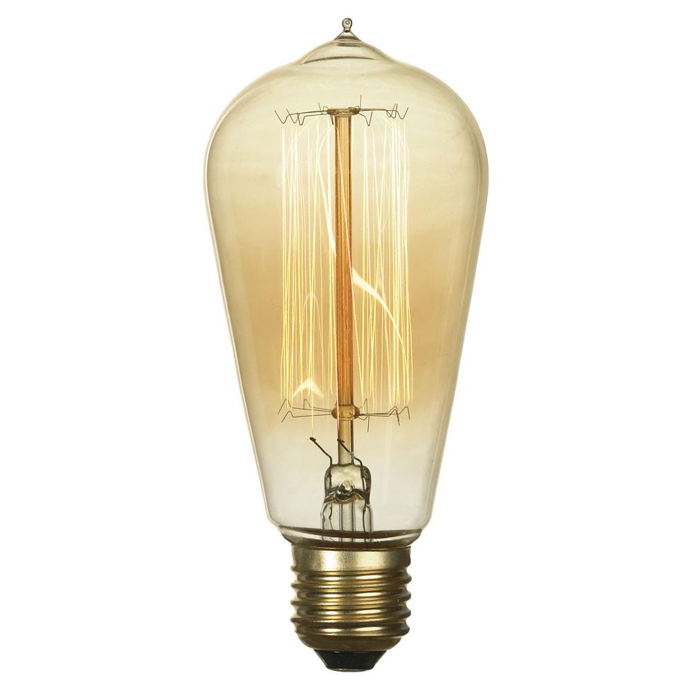 Лампочка Lussole Ретролампа накаливания Lussole E27 60W GF-E-764 от svetilnik-online